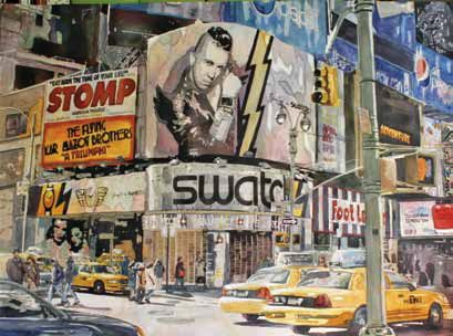 Laura Goldstein-Warren, Morning in Times Square, Charlotte Huntley Award   -  $550