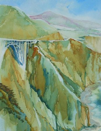 Robert Shaw, Bixby Creek Bridge, Honorable Mention - 2012 John Muir Show