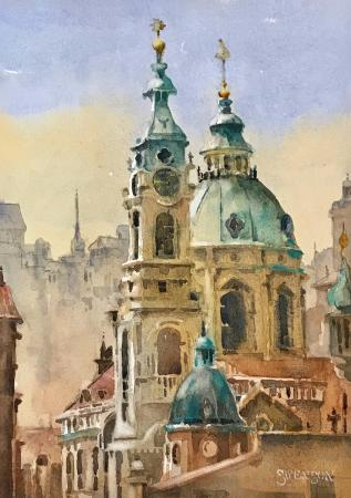 Brenda Swenson, Prague, Jack Richeson and Co. Inc. Award CWA 49th National Exhibitio