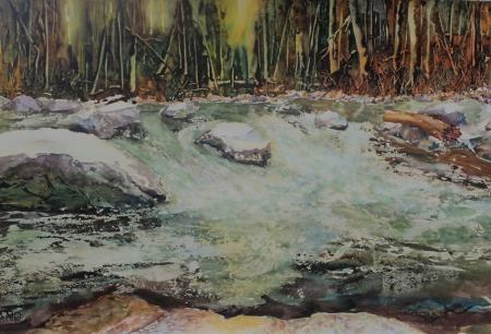 Chris Knopp, Silver Fork Evening, Honorable Mention, Delta Gallery