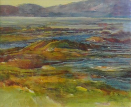 Juanita Hagberg - Lake View, Honorable Mention - 2012 Show at 48 Natoma