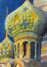 Robert Davidson - Russian Domes - Honorable Mention - 2012 Show at 48 Natoma