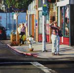 Karen Frey, Watching for a Bus, 1st Place