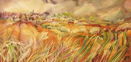 Leslie Cheney-Parr, Puy 2 Gold Fields, Mary Spivey Memorial Award CWA 49th National Exhibition