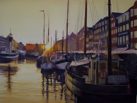 Magaret Washington, Copenhagen Sunset, 2nd Place