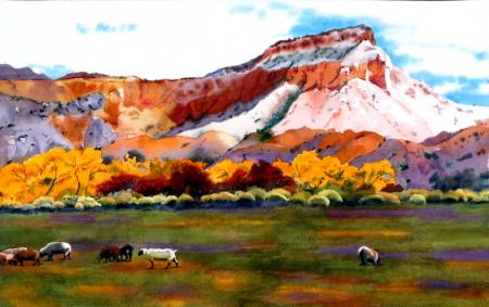 Marilyn Miller, Ghost Ranch, Honorable Mention San Ramon City Hall Gallery