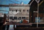 Marilyn Miller, Crockett Pier, Honorable Mention Lindsay Dirkx Brown Show 2013