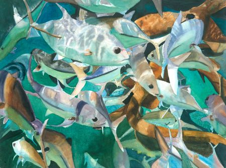 Rita Sklar, Feeding Frenzy, Honorable Mention