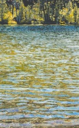 Mary Blake, Sand Pond Ripples, Silver Award - 45th National Exhibition