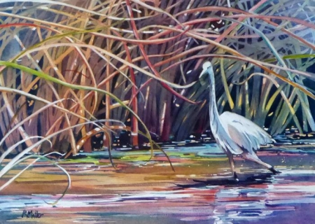 Ruth Miller, The Egret Ballet