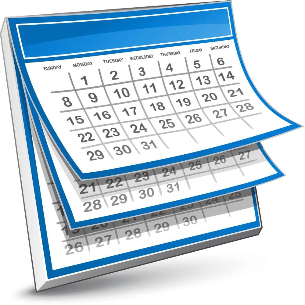 CWA Calendar