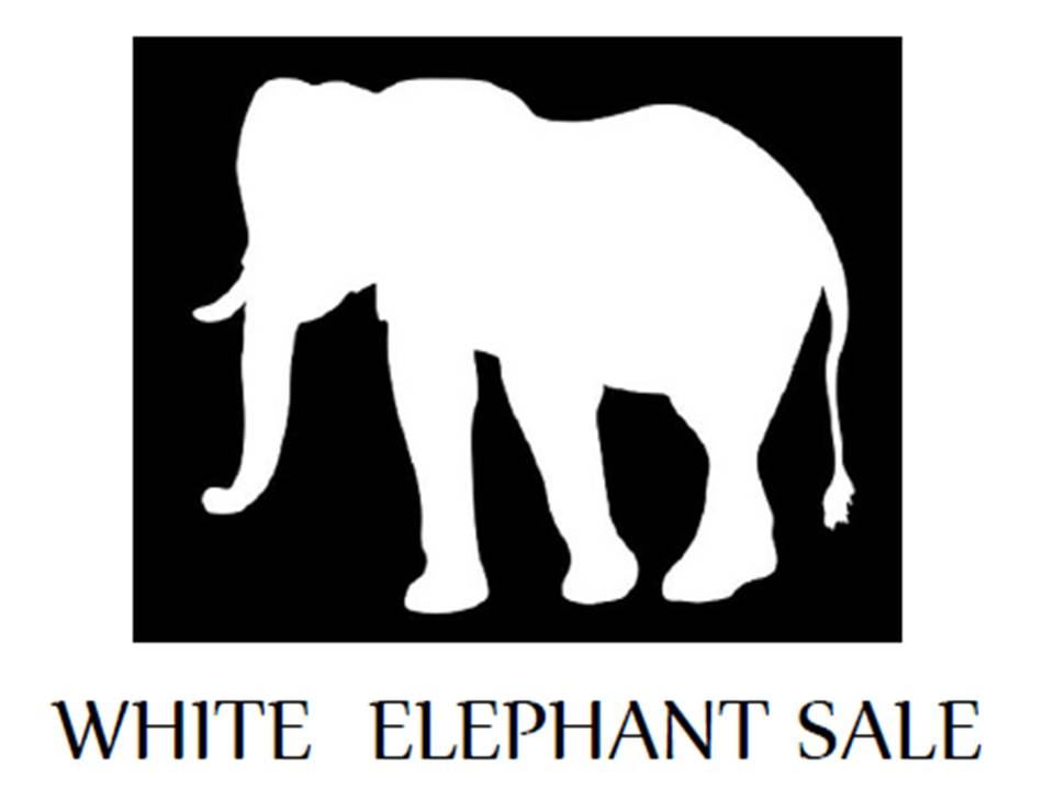 White Elephant sale